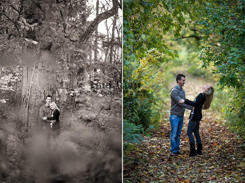 Monon Trail Engagement Photos